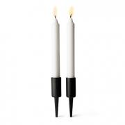 Pipe candleholder vertical