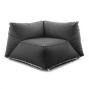In shape sofa corner